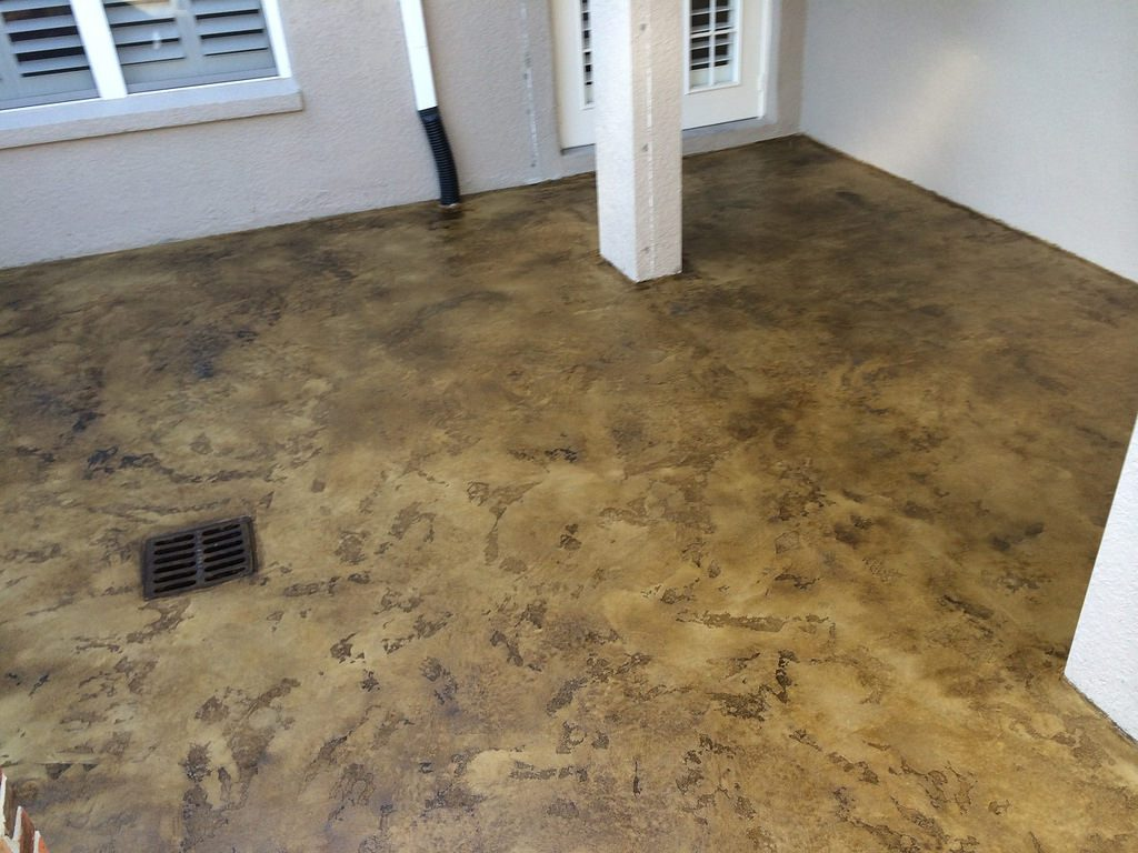 Slate Stained Concrete | Denton Texas