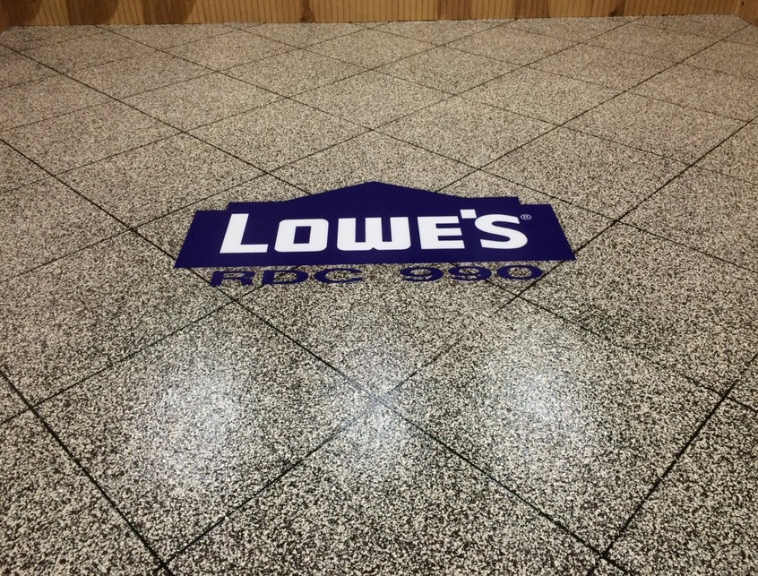 TexKrete | Floor Logo | Denton Texas