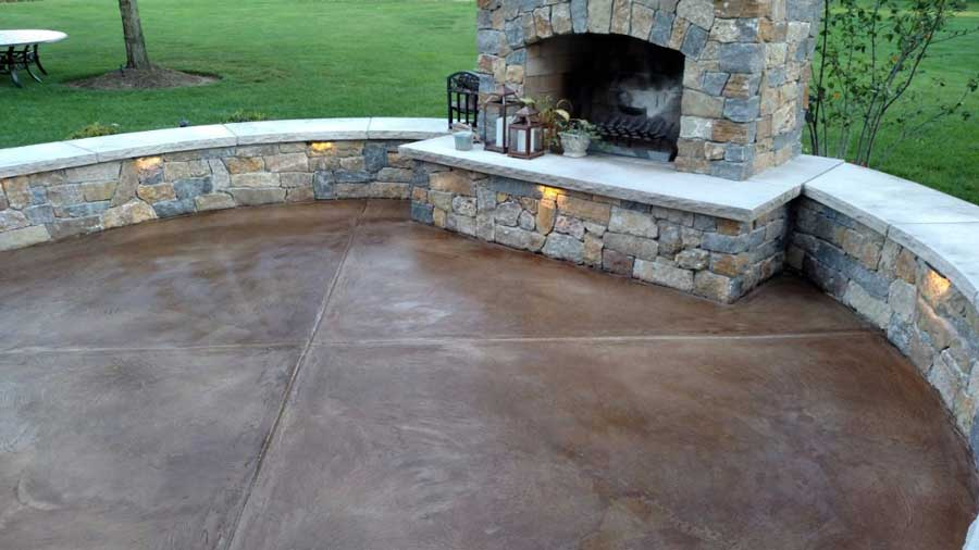 TexKrete | Stained Concrete | Denton Texas